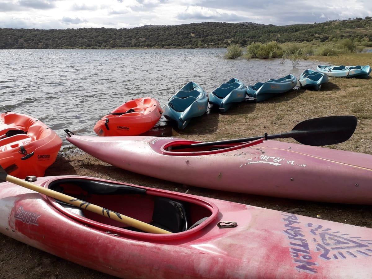 Alquiler de kayaks en Madrid