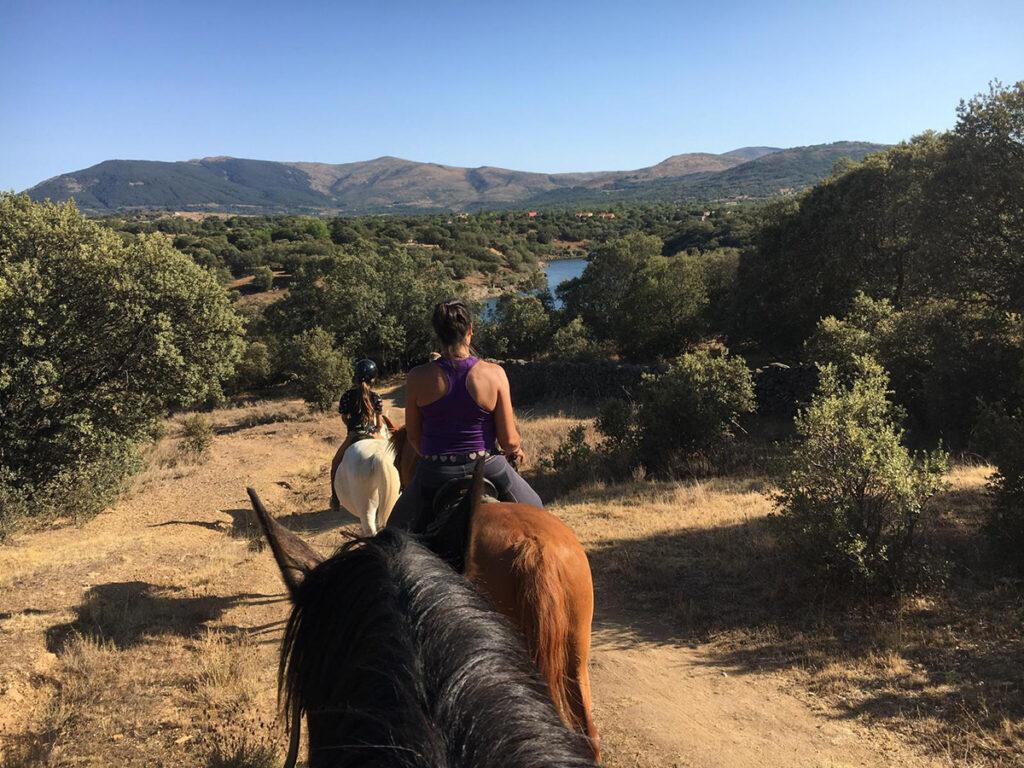 Rutas a caballo en Buitrago de Lozoya