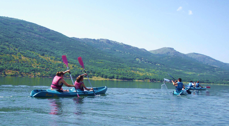 alquiler de kayaks y piraguas en Madrid