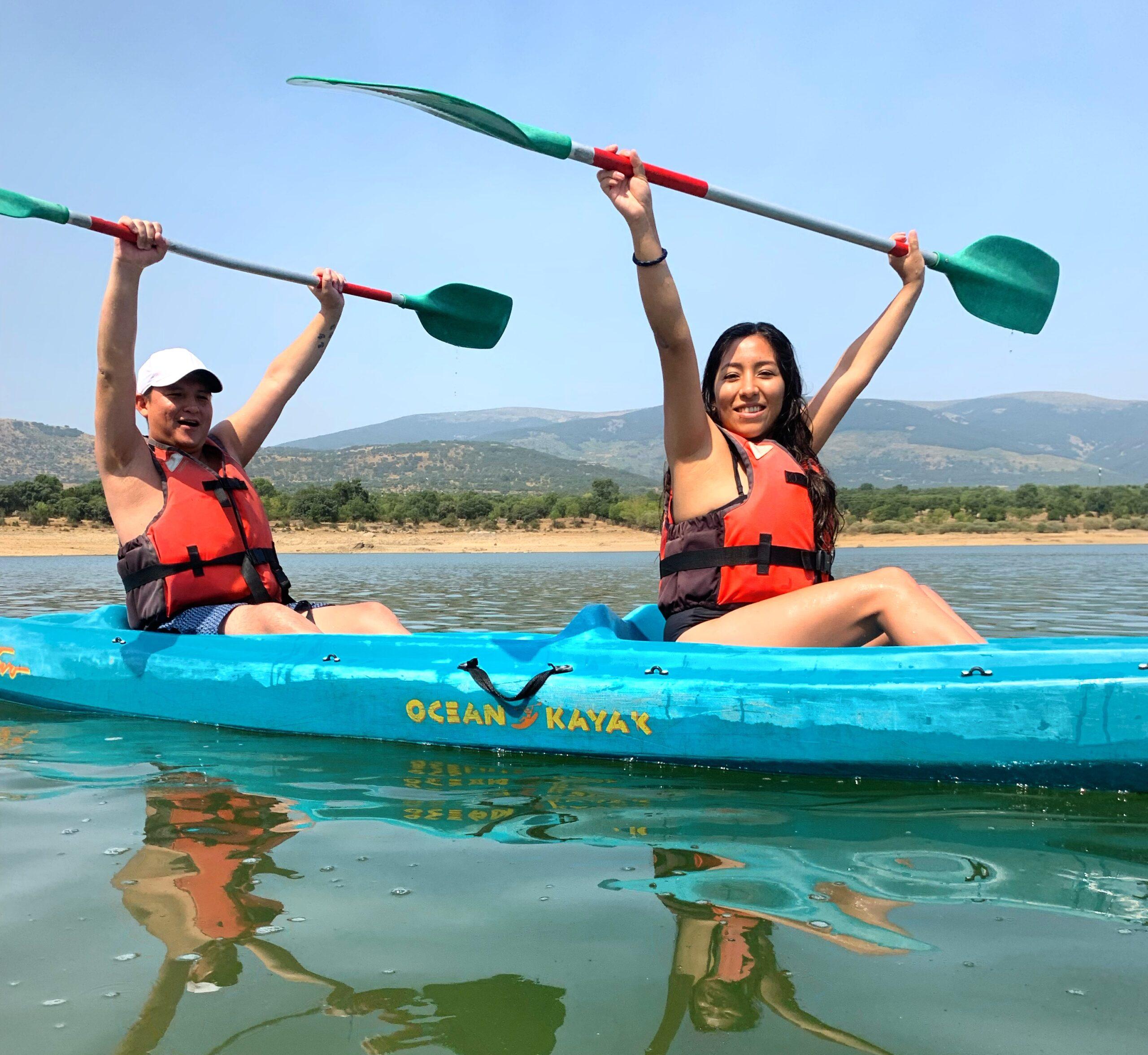 Alquiler kayaks en Madrid