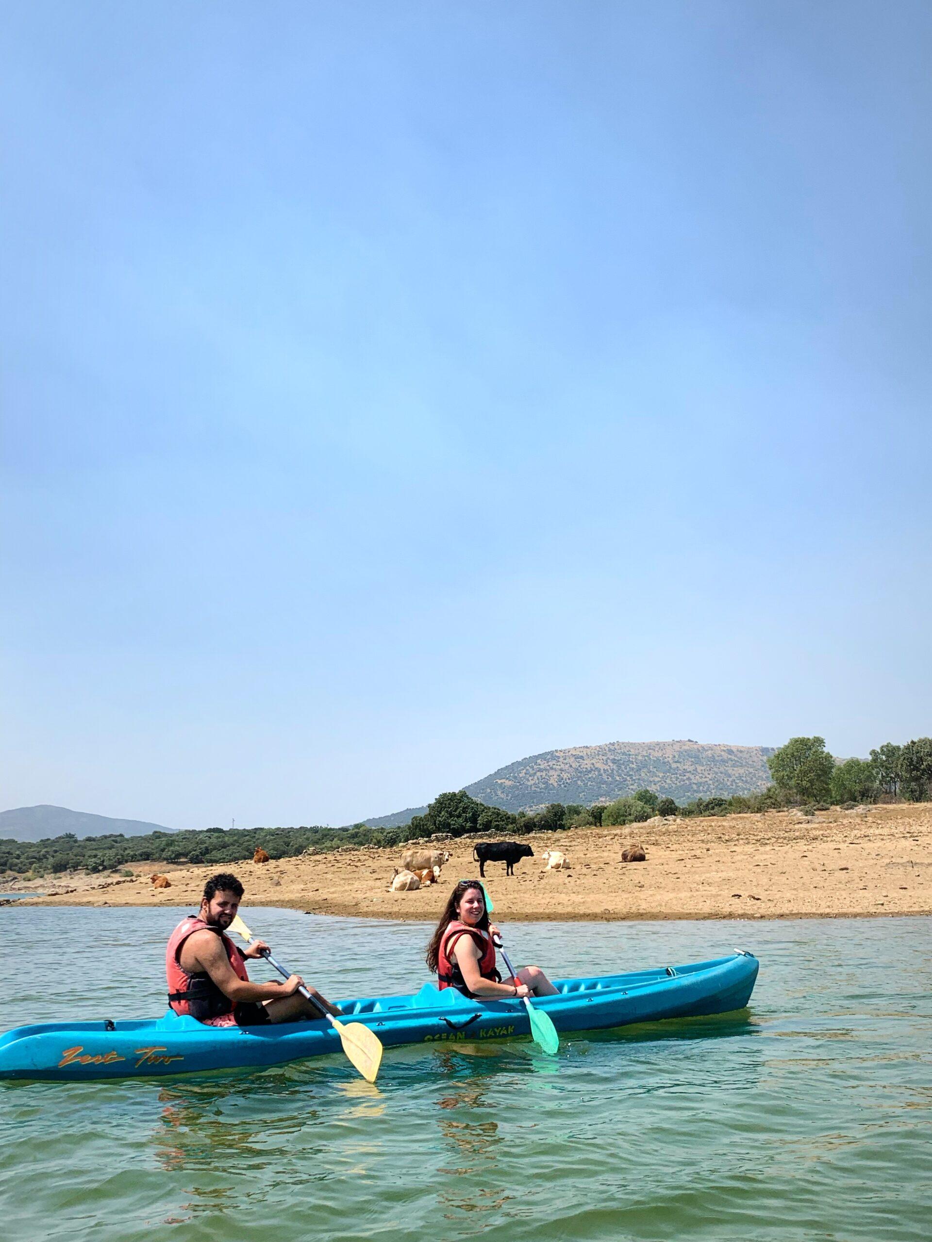kayaks en Madrid